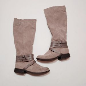 Bamboo Jagger Brown Tall Riding Boots 7